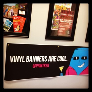 Vinyl Banners Are Cool