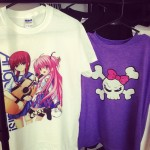 Anime images on t-shirts