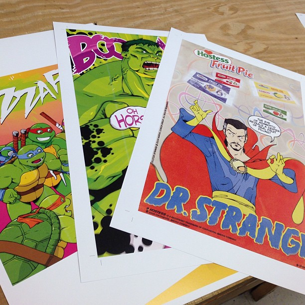 sequential art poster printing