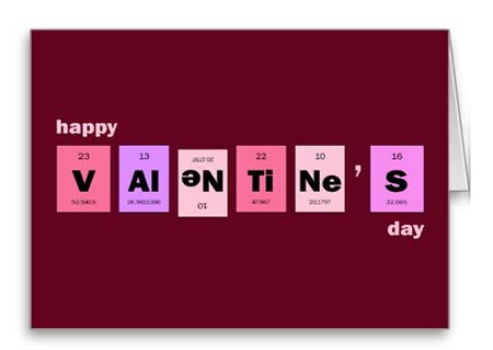 Elements Valentines Card