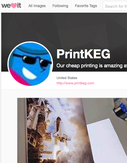 Our Print Company on We Heart It