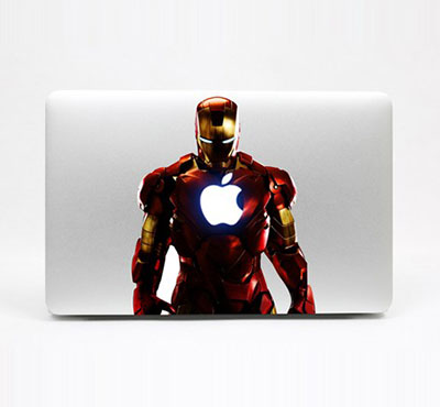 Iron Man Macbook Decal