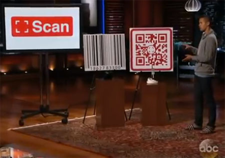 QR Code on Shark Tank