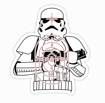 Stormtrooper Sticker