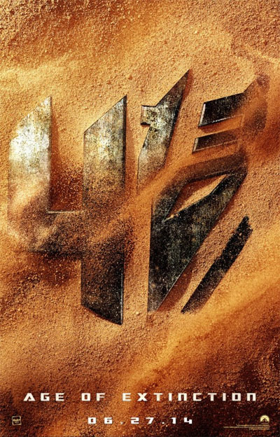 Transformers4 Movie Poster