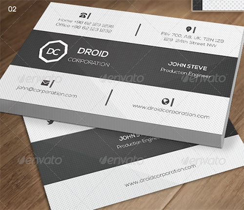 Corprate busines card template
