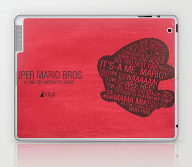 Mario Macbook skin
