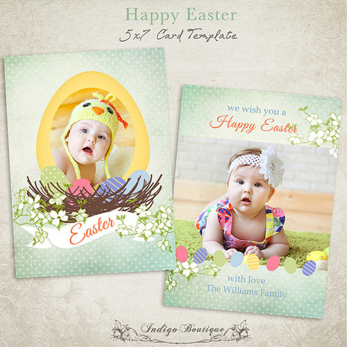 IndigoBoutique Easter Card