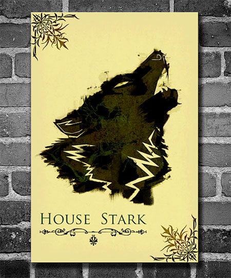 Game of Thrones minimalist poster