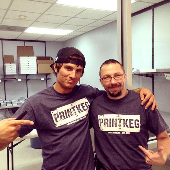Free PrintKEG Shirt