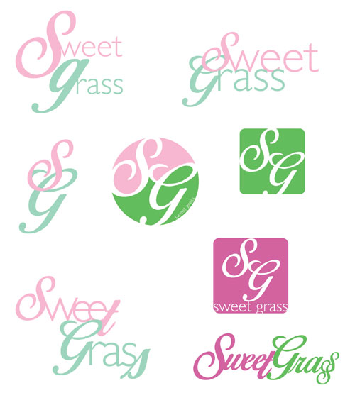 Second Round of Sweetgrass Logo Revisions