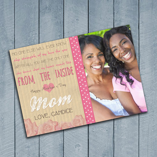 Sappy Mothers Day Card