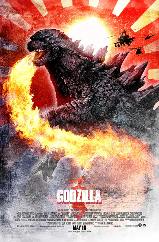 Alternative Godzilla Poster
