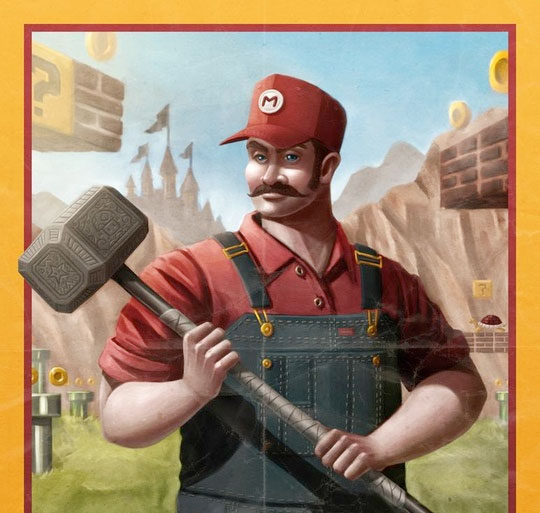 Hammer Time Mario