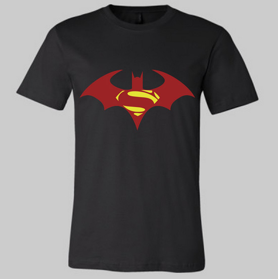 Superman fueled Batman Shirt
