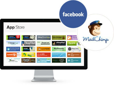 Picture showing many Shopify Apps