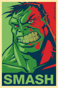 Smashing Good Hulk Posters