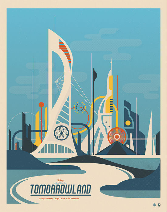 Tomorrowland Poster Posse Project