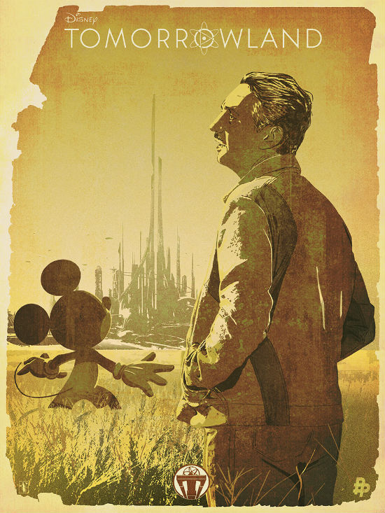 Tomorrowland Tribute Poster