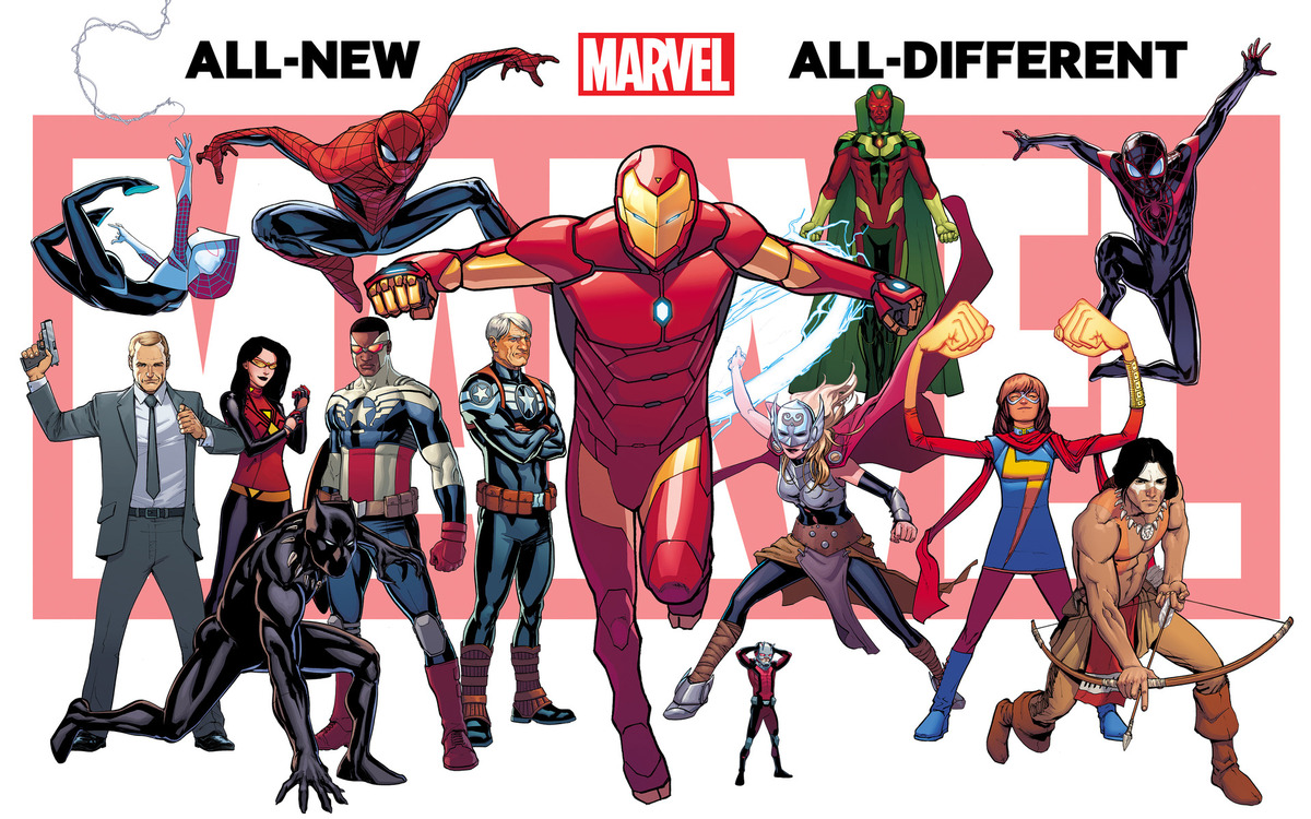 New Marvel Characters