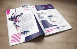 Beautiful Newsletter Print Designs for Businesses