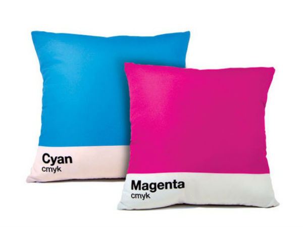 CMYK Gift Idea - Pillows