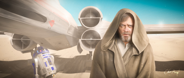 Focusing on Luke Skywalker: The Prodigal Son Artwork