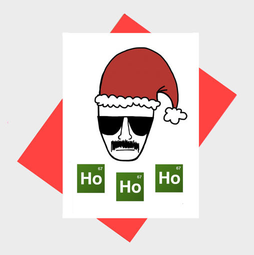 Heisenberg Breaking Bad Holiday Card