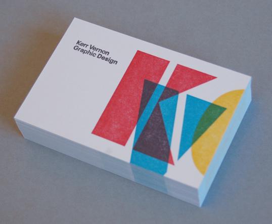 Cmyk Collided Business Card Idea Printkeg Blog