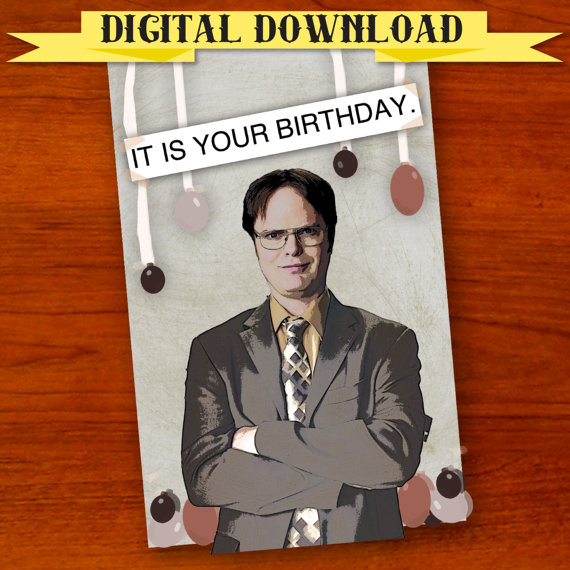 Funny Pop Culture Birthday Cards On Etsy