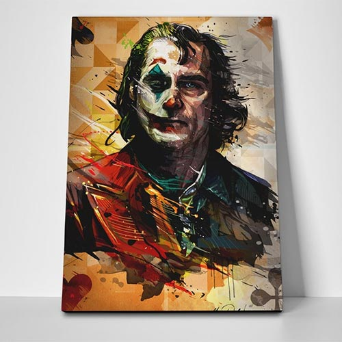 Art poster of Joaquin Phoenix Joker