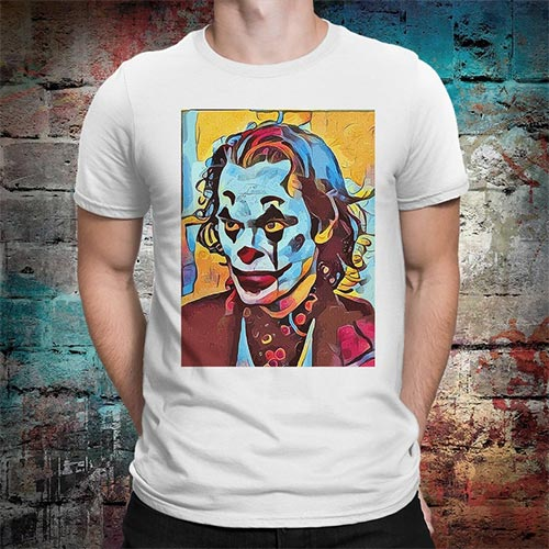 Joker movie t-shirt