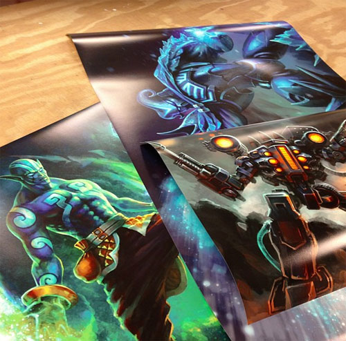 A few 24x36 posters we printed