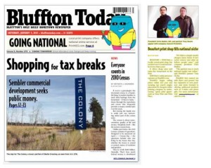 Featured In Bluffton Today