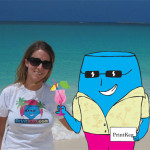 Vacationing with a Printkeg shirt