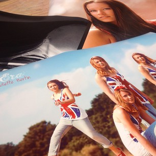 Wide format photo prints