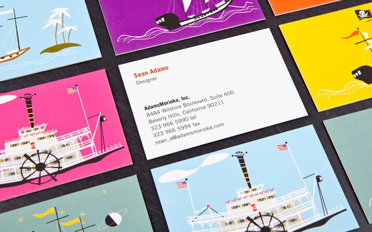 business cards with different backgrounds