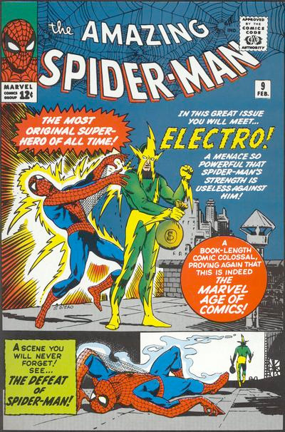 Electro First Appearance: Amazing Spider-Man #9