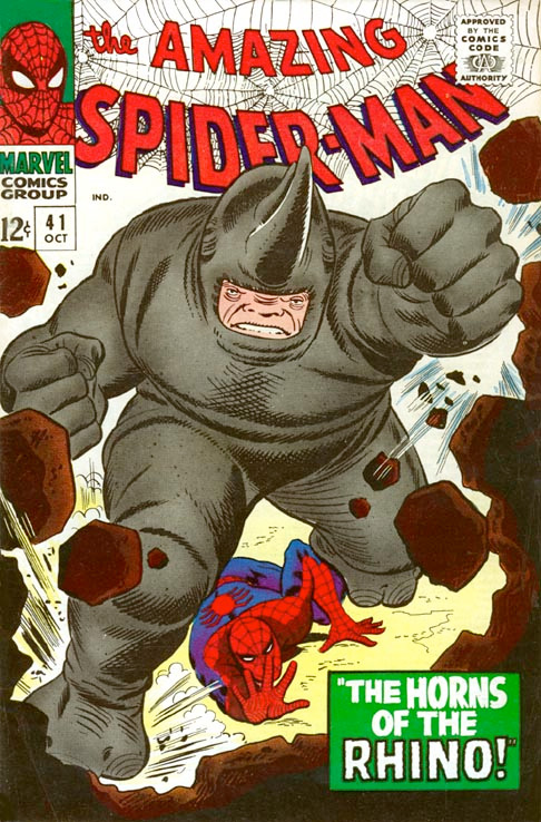 First Rhino Cover - The Amazing Spider-Man #41