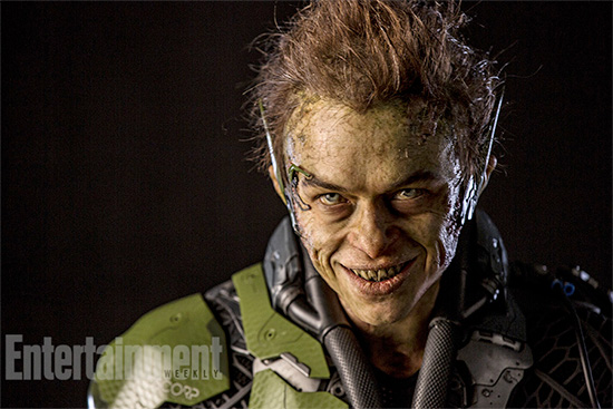 New Green Goblin in Amazing Spider-Man 2