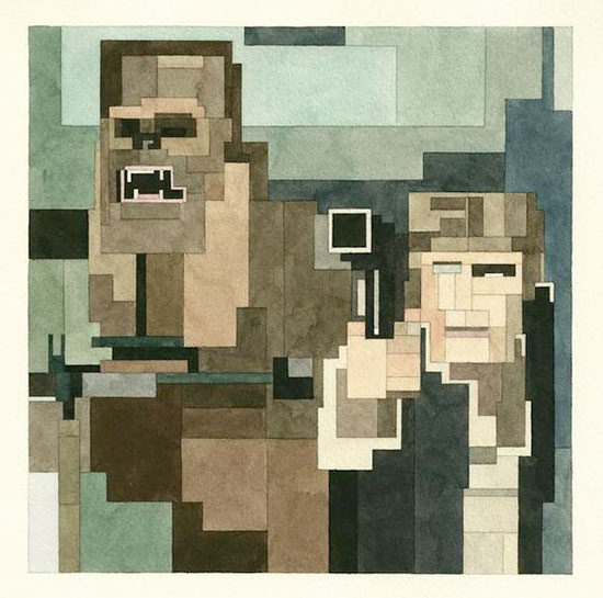 8-Bit Star Wars Prints