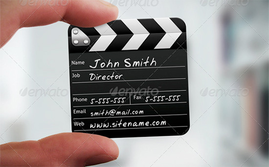 directors business card