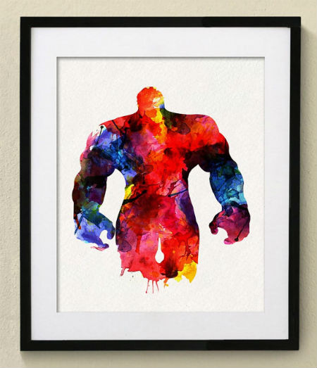 Hulk Print with a wider color pallet