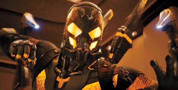 Yellowjacket is a villain in the movie Ant-Man