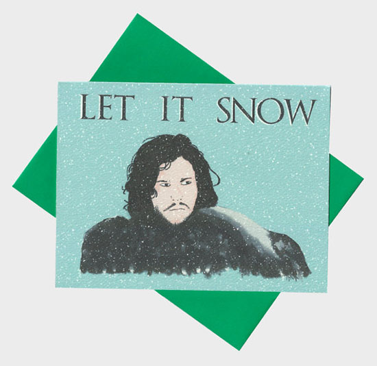 Jon Snow Holiday Card