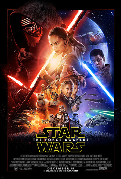 Star Wars: The Force Awakens New Film Poster