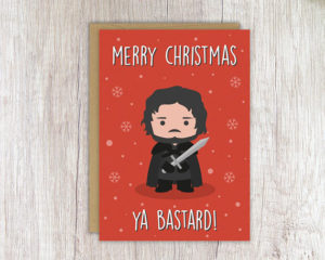 Funny Game of Thrones Cards by Etsy Slayers