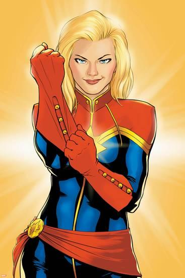Captain Marvel Prints and Posters