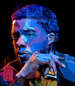 Remembering Chadwick Boseman Through Art.